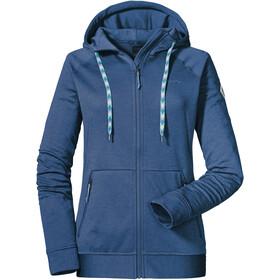 Schöffel Setagaya Hoodie Forro Polar Mujer, blue indigo